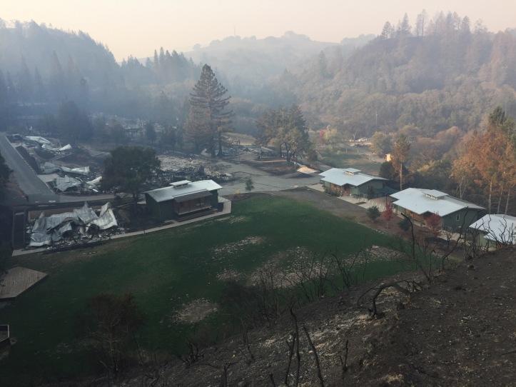 Camp Newman fire