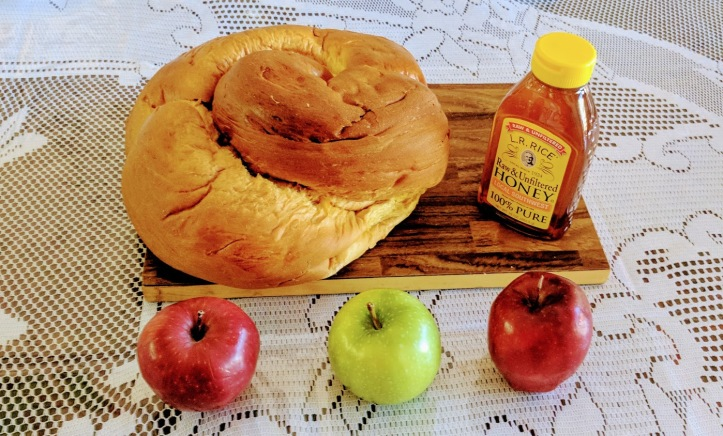 Rosh Hashanah apples and honey